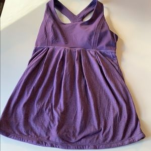 🍋 purple tank